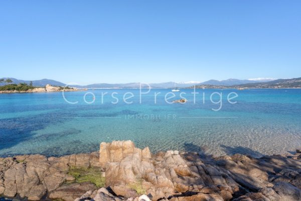 AJACCIO GULF - PENINSULA OF ISOLELLA - PROPERTY FOR SALE - REF N71