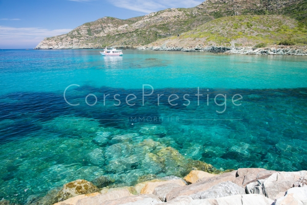 Waterfront villa for sale  North Corsica - Cap Corse - REF N90