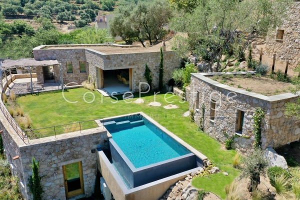 LUXURY VILLA FOR RENT IN BALAGNE IN ONE OF THE MOST BEAUTIFUL VILLAGE - REF PI01